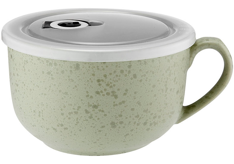 Reactive Eggshell Microwave Mug