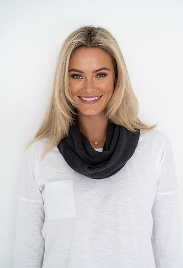 Charcoal Simple Snood