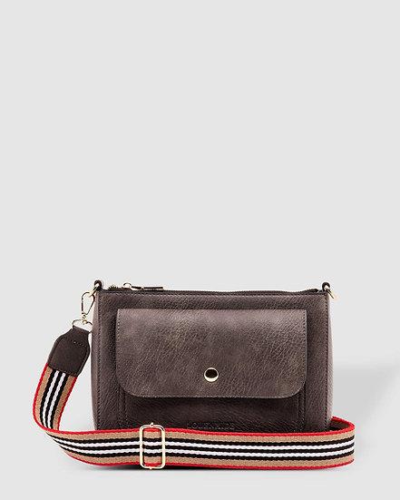 Victoria Smoke Crossbody Bag