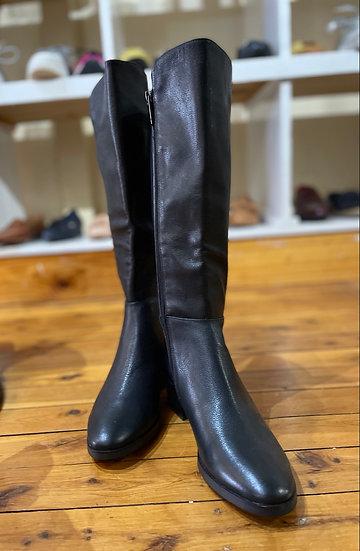 Black Tall Boot