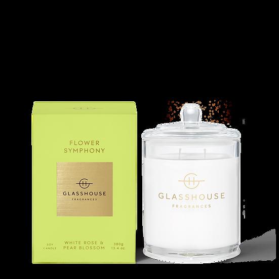 Glasshouse, Flower Symphony -  White Rose & Pear Blossom