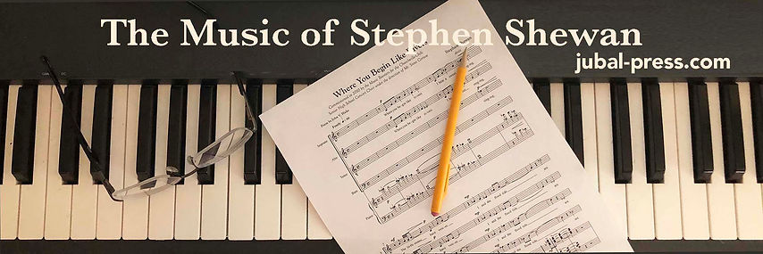 Stephen Shewan commissioned composition, Where You Begin Like Rivers