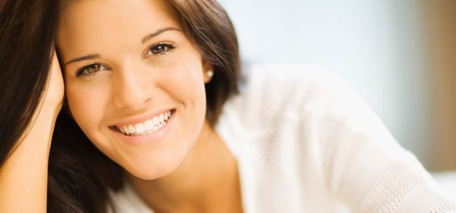 笑顔ブルネット2