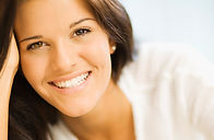 Girl face teeth smile