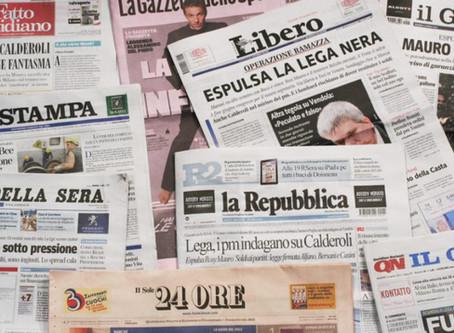 Abbiamo un problema coi titoli di giornale