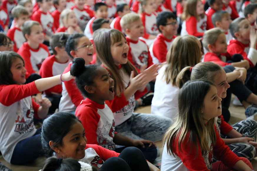 Moon Area Elementary School Assembly