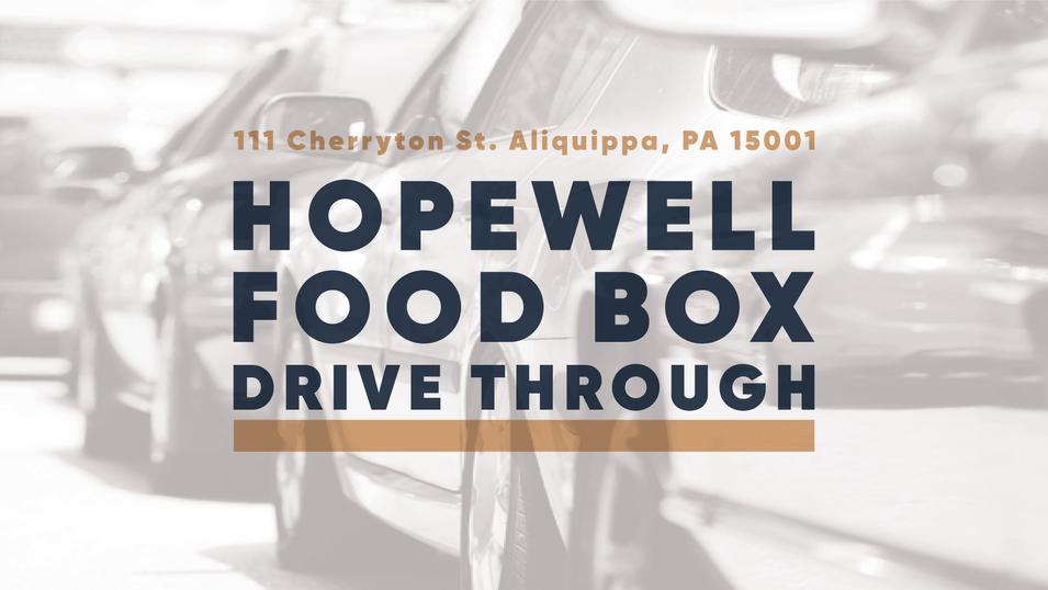 Food Box Drive Through