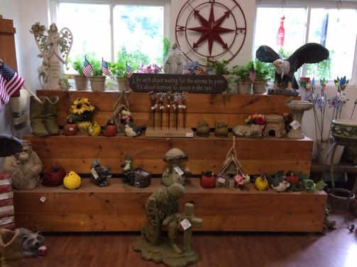 Gift Shop Statues