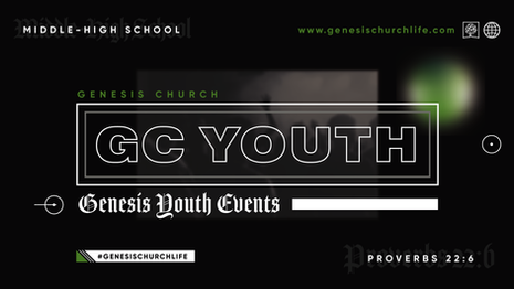 Genesis Youth Events