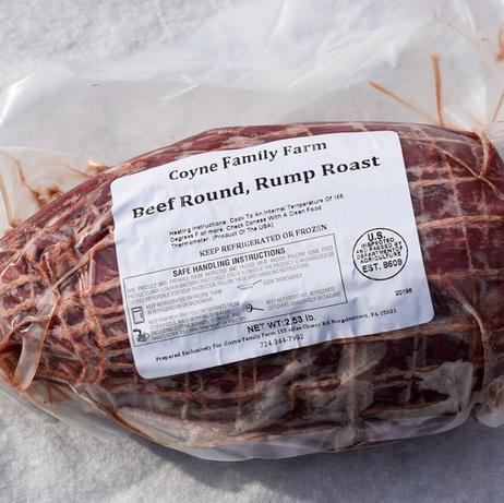 Beef Round, Rump Roast