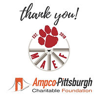 AMPCO Pittsburgh and Moon Area Education Foundation Logos