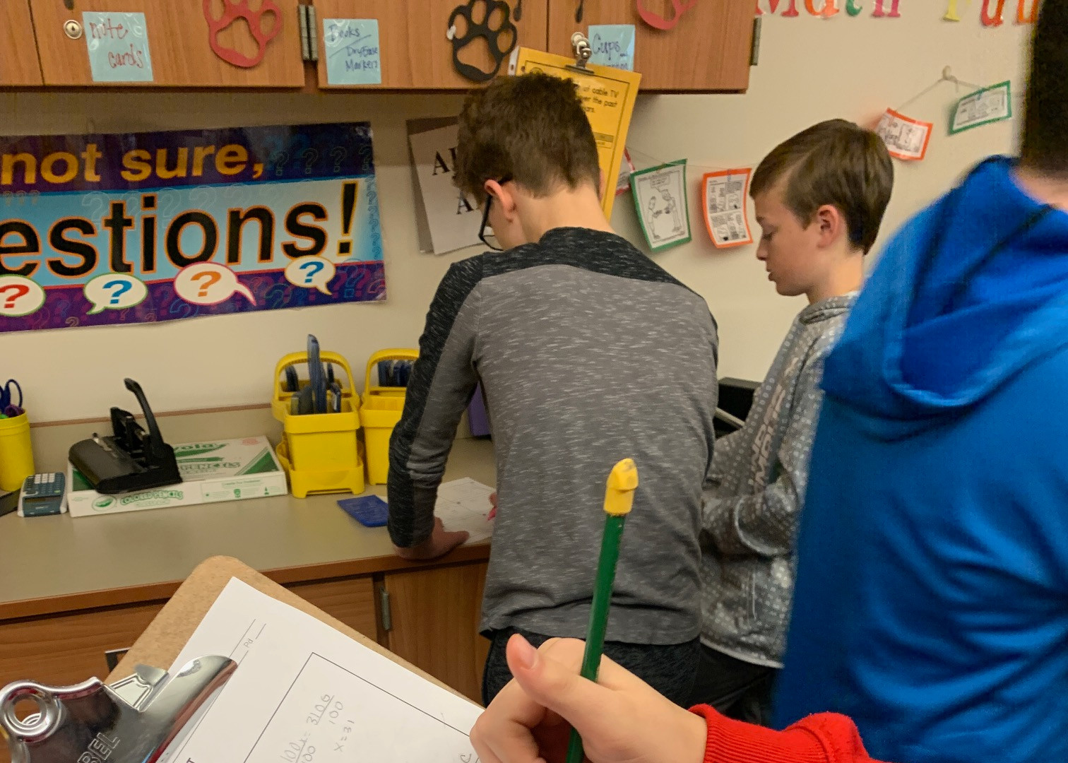 Maneuvering the Middle Grant (7th Grade math)