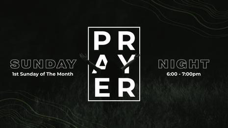 Sunday Prayer Night