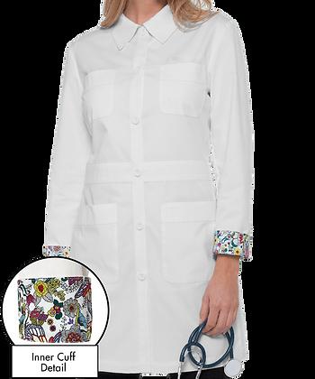 Women's Labcoat with Logo