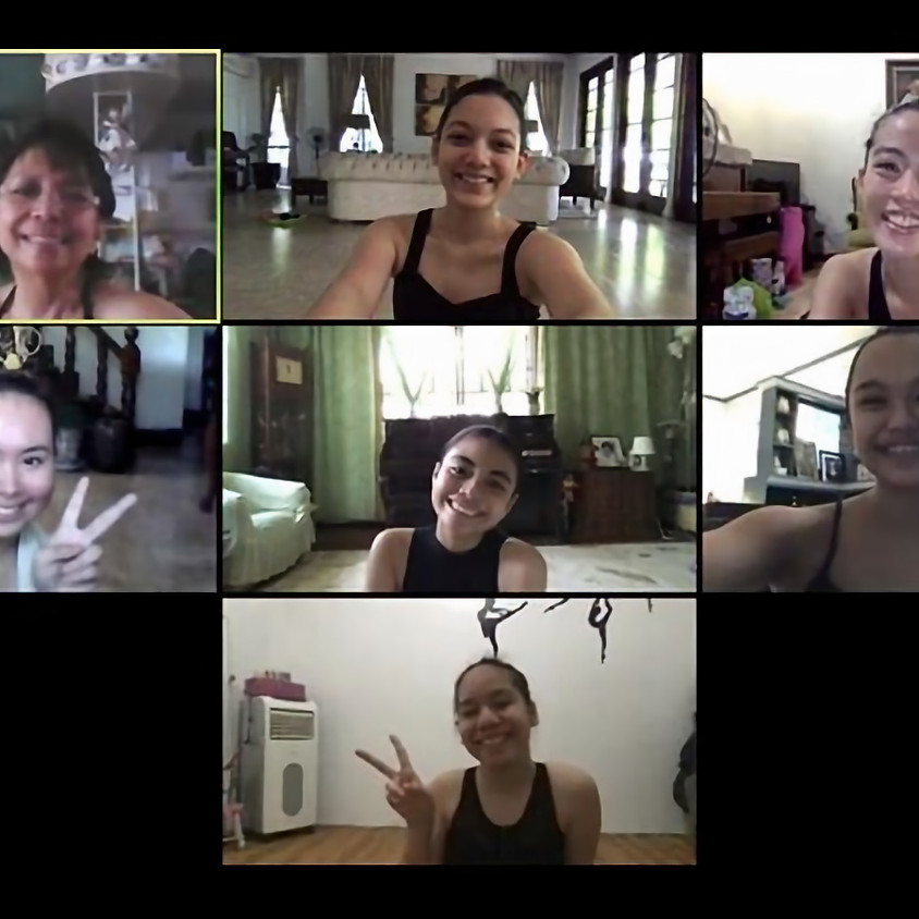 Online Ballet Training via ZOOM