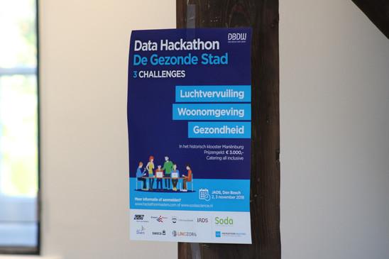 Data Hackathon Gezonde Stad JADS Den Bosch 1