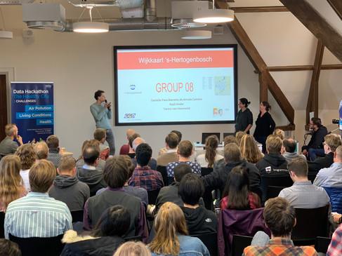 Data Hackathon Gezonde Stad JADS Den Bosch 14