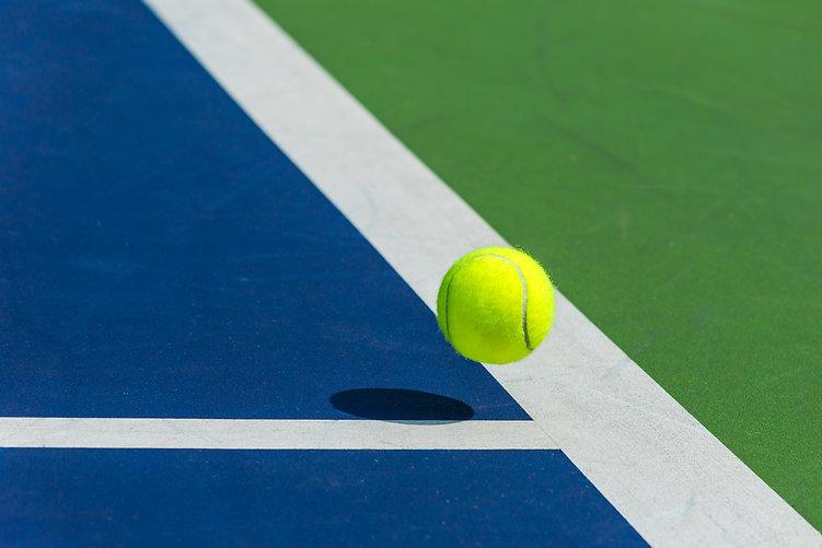 Tennis ball on the corner of court.jpg