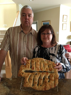 Adventure Bay Owners from Calgary Baking