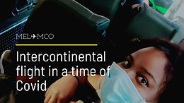 Intercontinental Flight From Australia to US during COVID
