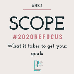 How Establishing Scope Can Rescue Your Goalsetting