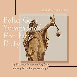 Pella is summoned for Jury Duty