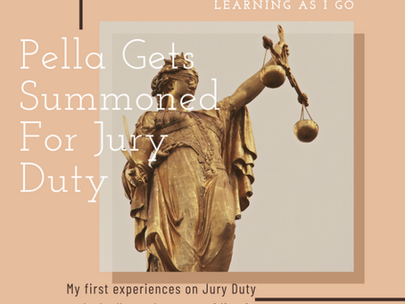 Pella is summoned for Jury Duty
