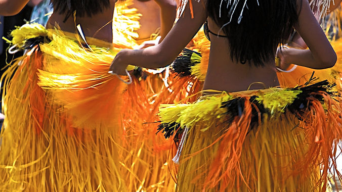 Cook Island Dancing... It's Not As Easy As You Might Think