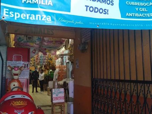 Dirección de mercados y vigilancia ciudadana avanzan en operativo preventivo en mercado Municipal.