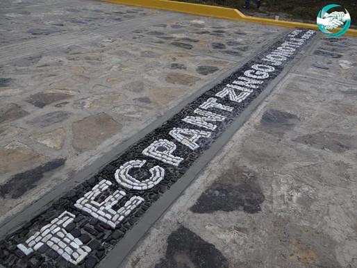 ENTREGA DE LA CONSTRUCCION DE PAVIMENTO CON CONCRETO HIDRAULICO EN TECPANTZINGO.