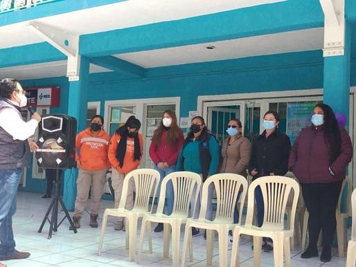 EL PRESIDENTE MUNICIPAL DR. CARLOS  PACHECO, RECONOCE LA GRAN LABOR DE LAS MUJERES EN SU DÍA. 💜🌷