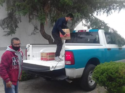 Inicia entrega de libros de texto gratuitos a escuelas de educación básica de Esperanza