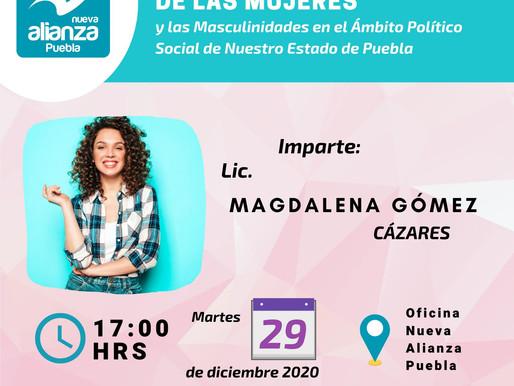 """INVITACION A LA CONFERENCIA """"EL EMPODERAMIENTO DE LAS MUJERES Y LAS MASCULINIDADES"""""""