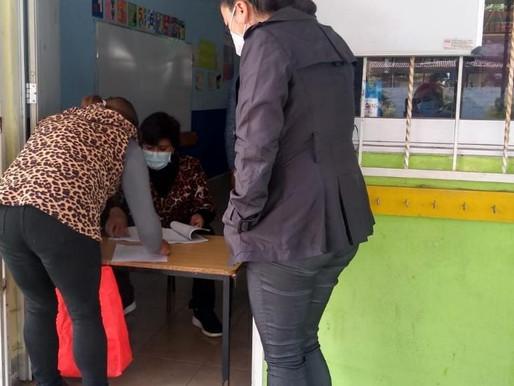 REALIZA SISTEMA MUNICIPAL DIF ENTREGA DE DESAYUNOS ESCOLARES A COMITÉS DE INSTITUCIONES EDUCATIVAS.