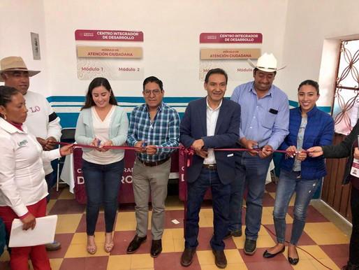 Inauguración de los Centros Integradores de Desarrollo para los Programas Federales del Bienestar.