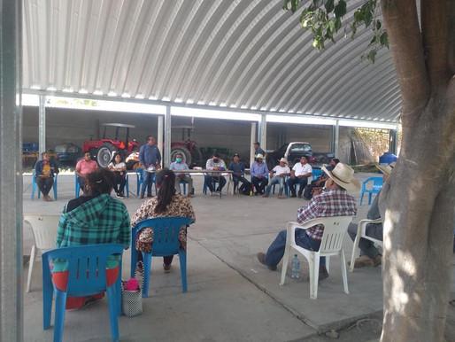 REUNION CON COMUNEROS Y CIUDADANOS.