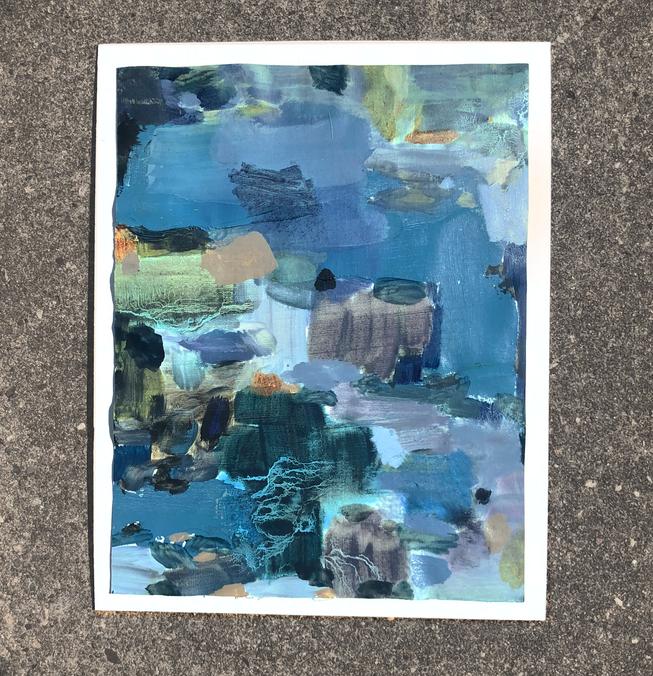 Color Study: Foam Rinse