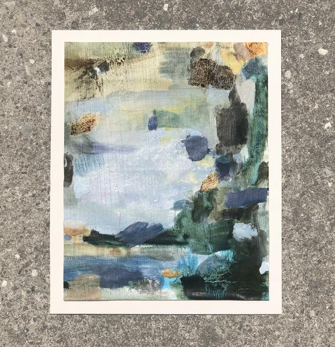 Color Study: Soft Gorge