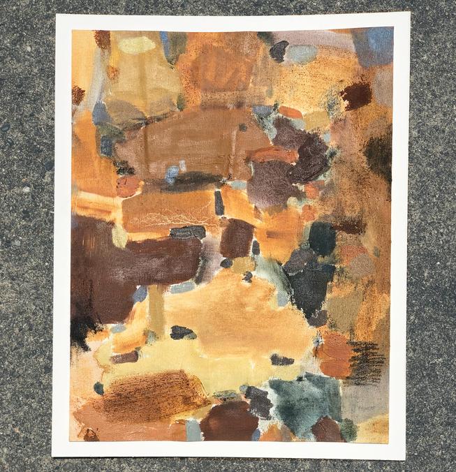 Color Study: Dark Terra