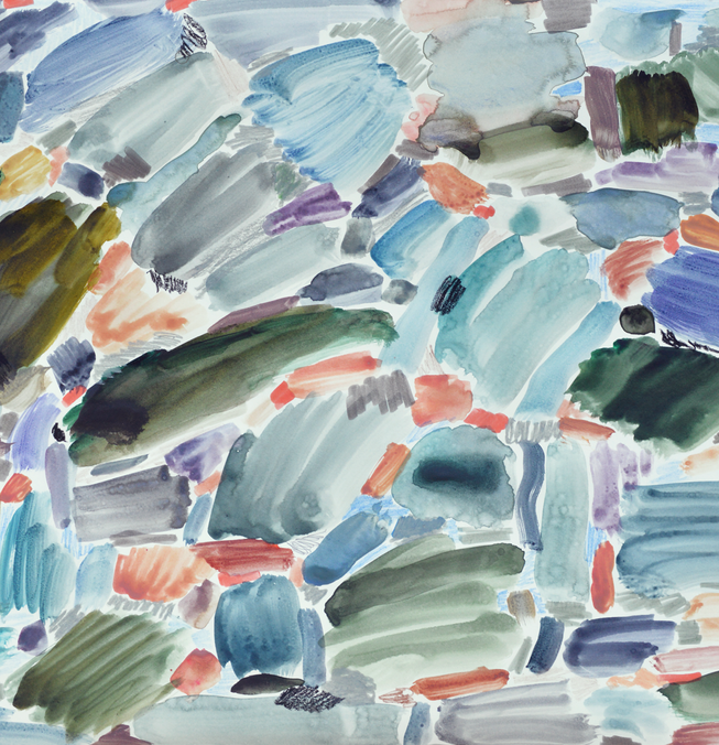 Color Study: Lake D'Arboone