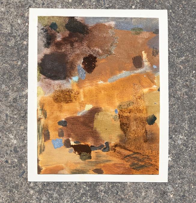 Color Study: Warm Passage