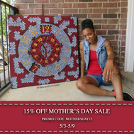 15% off Mother's Day Sale