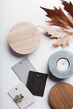 Objetos de diseño de interiores