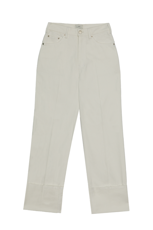 DOLBY-WHITE STRAIGHT FIT JEANS