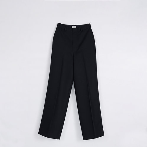 BLACK COSTA WIDE LEG PANTS