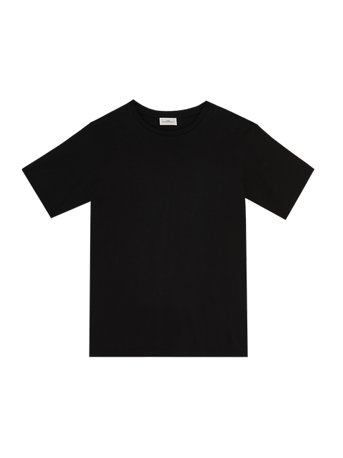 BLACK CREWNECK S/S T-SHIRT