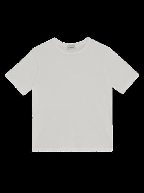WHITE CREWNECK S/S T-SHIRT