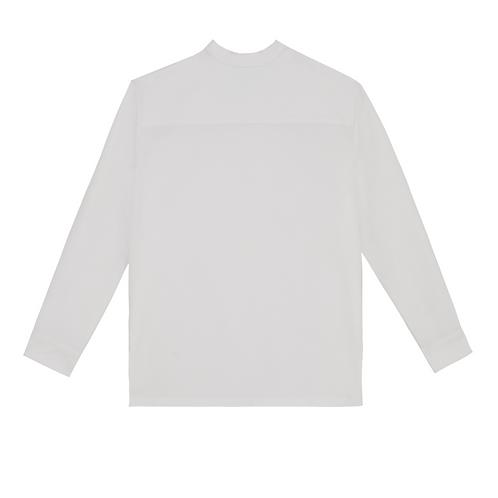 MARTIN - WHITE CREWNECK L/S SHIRT