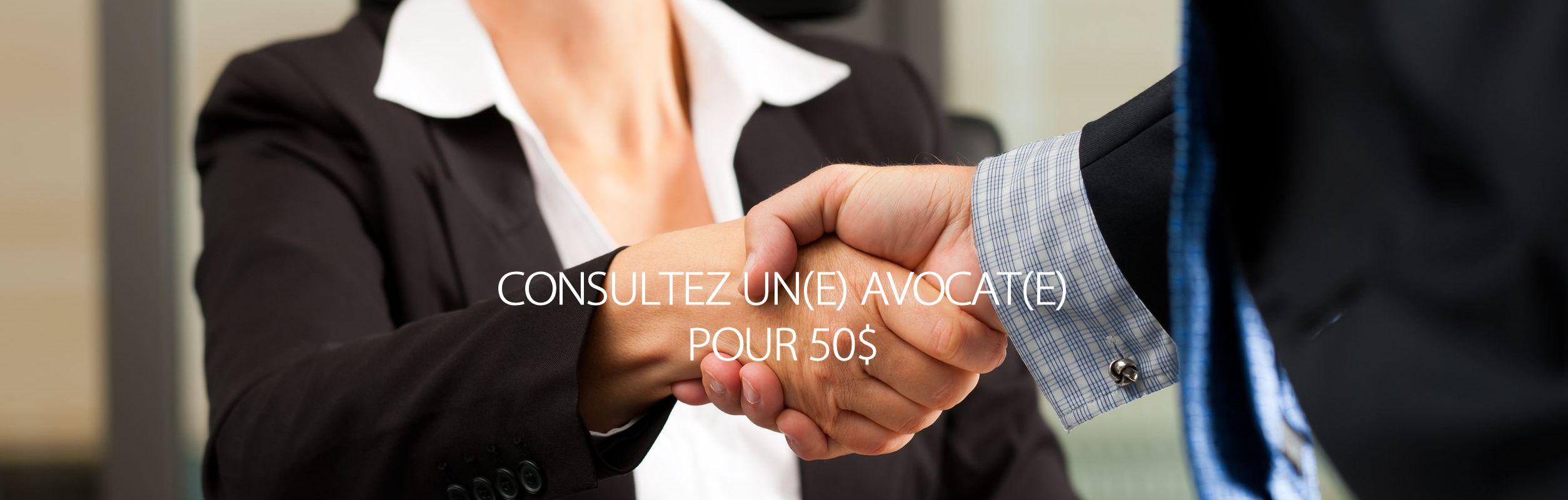 Consultations d'avocats à bon prix