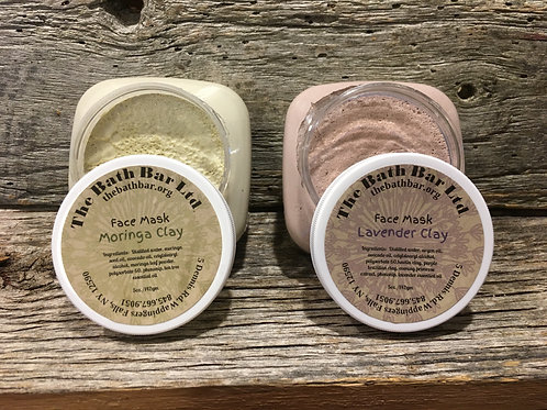 Lavender Clay Mask 0r Moringa Clay Mask